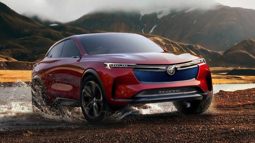 Buick Unveils Enspire Crossover EV Concept in China