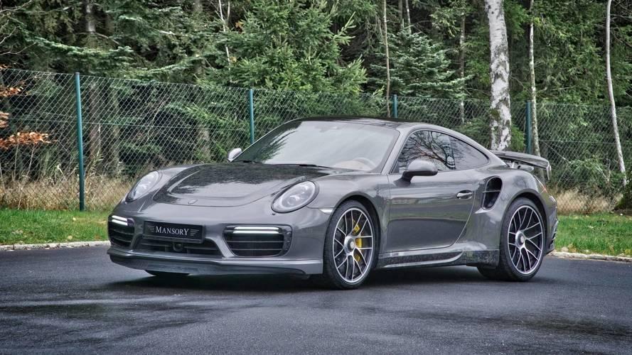 Mansory Porsche 911 Turbo S şaşırtıcı derecede