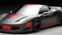 Ferrari F458 Curseive by Vogue Auto Design and Gray Design
