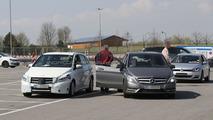 2015 Mercedes B-Class facelift spy photo