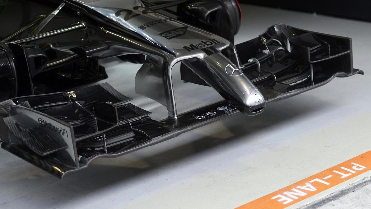 McLaren MP4-29 front wing / XPB