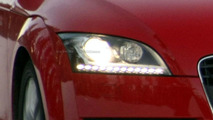 Audi TT New LED Headlamps Uncovered
