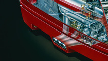 Ferrari F40 Prototipo, por David Kimble