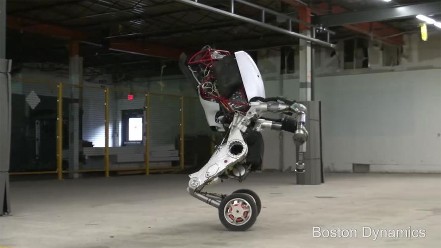 Boston Dynamics'ten inanılmaz bir robot daha: Handle