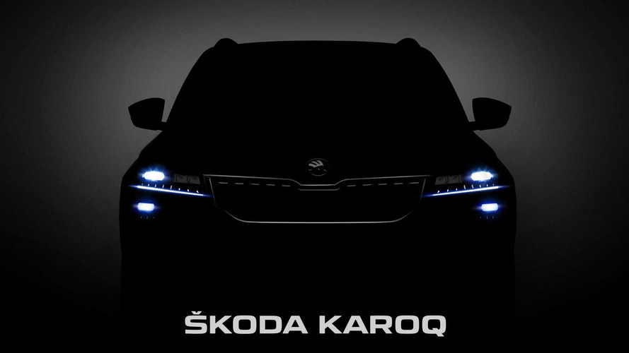 2018 Skoda Karoq Crossover Partially Revealed In Official Images