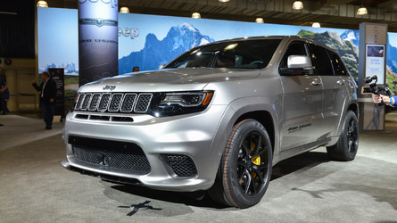 Don't Forget About The 707-HP Jeep Grand Cherokee Trackhawk