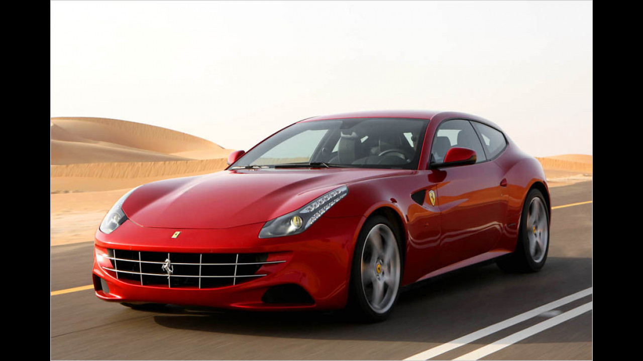 Platz 4: Ferrari FF