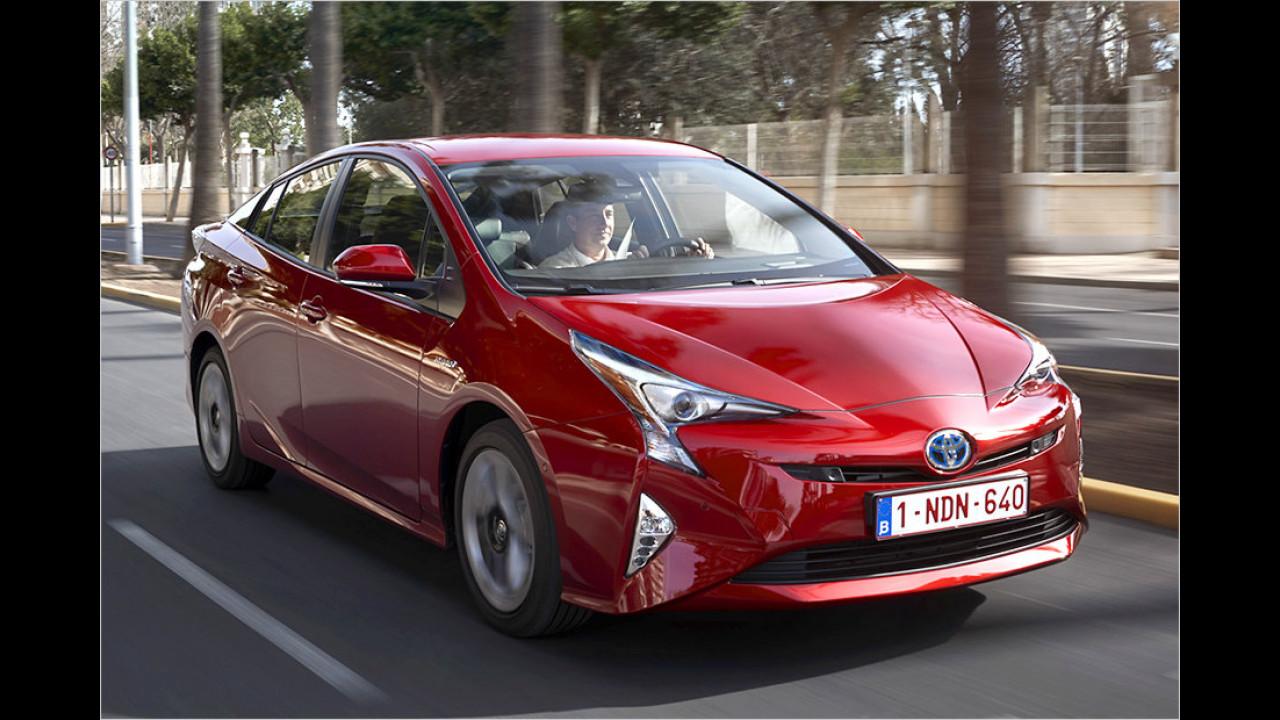 Der Öko-Poser: Toyota Prius