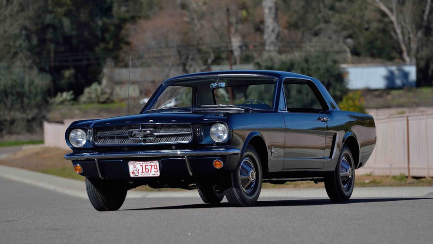 How Much Will The First Mustang Get At Auction?