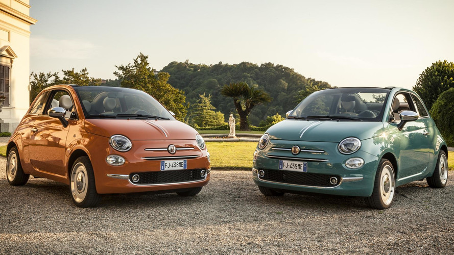 Fiat 500 Sings Happy Birthday To Itself With Anniversario Edition