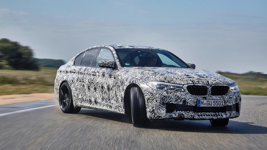 BMW M5 será mostrado oficialmente antes de Frankfurt