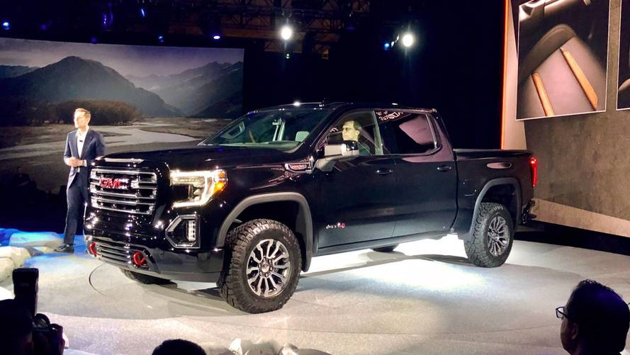 gmc launches 2019 sierra at4 and off