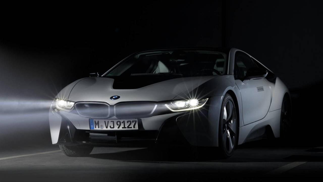 Feux laser sur la BMW i8