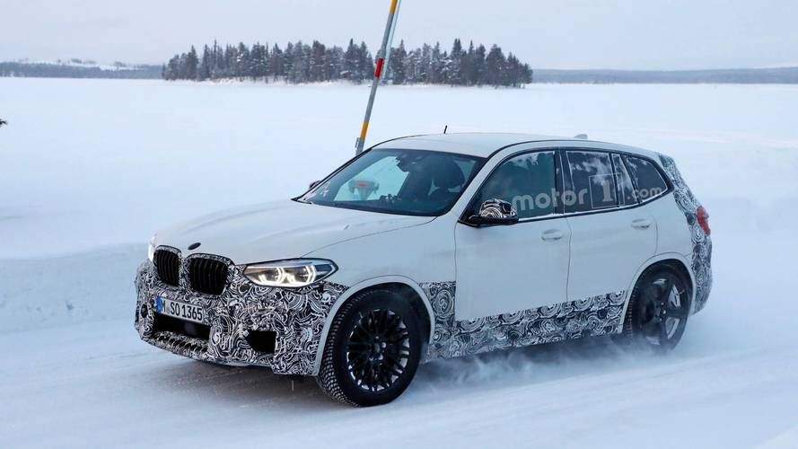 BMW X3 M Reportedly Getting 475-HP Competition Package