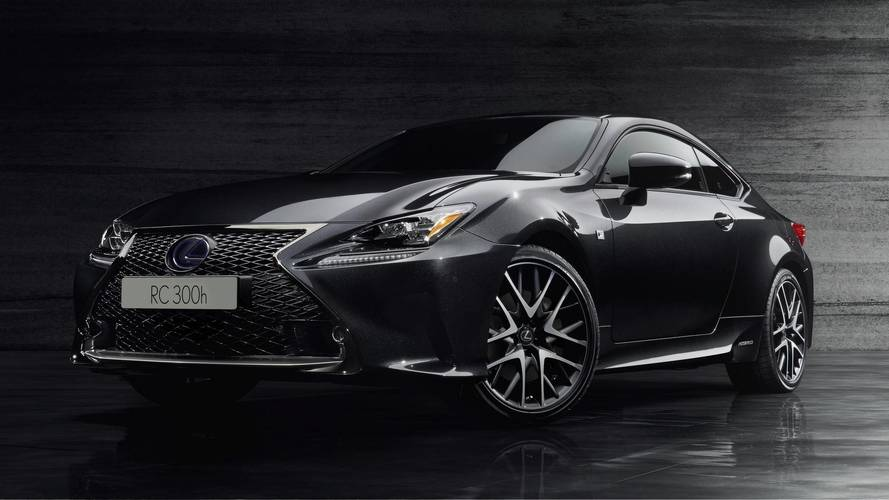 Lexus RC 300h F Sport Black Edition