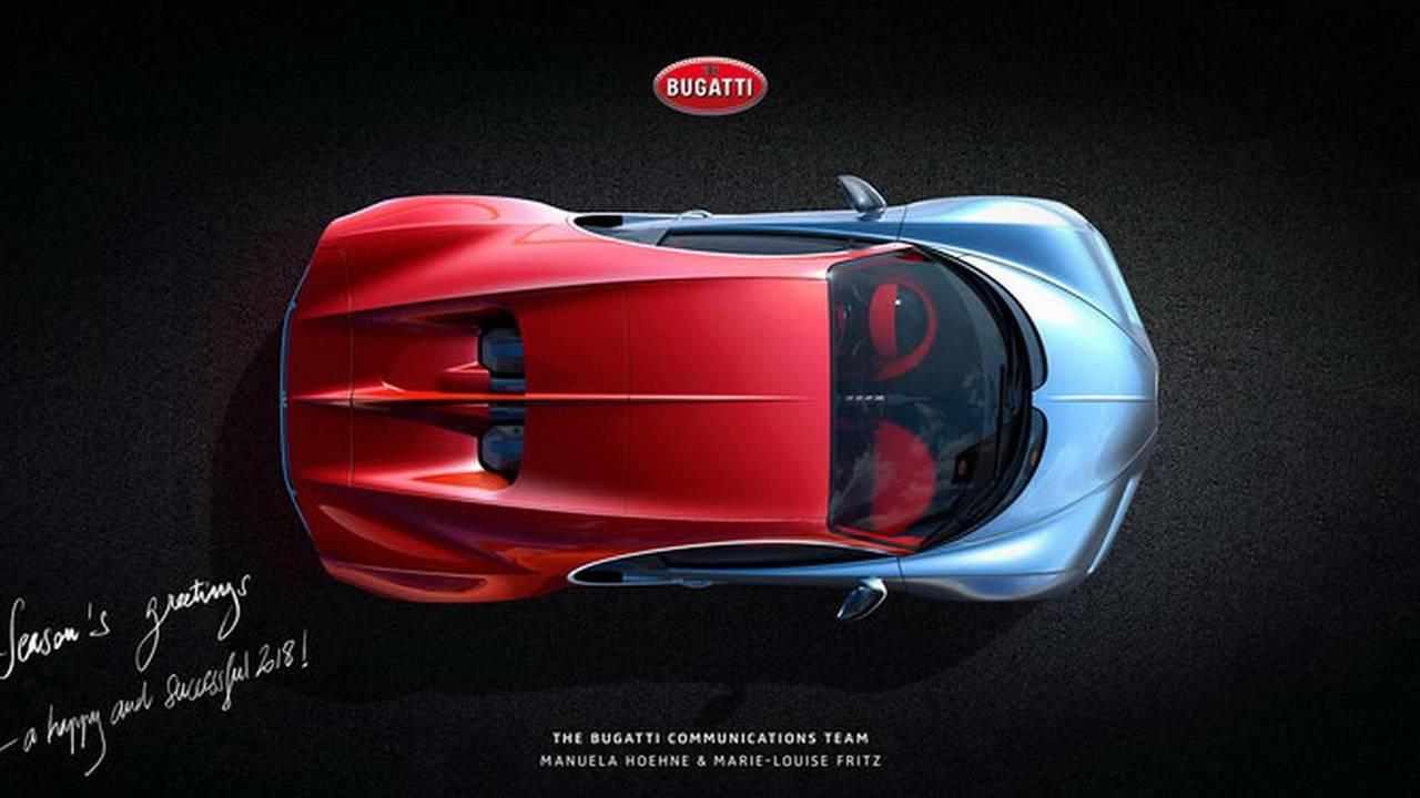 Bugatti karácsonyi üdvözlet