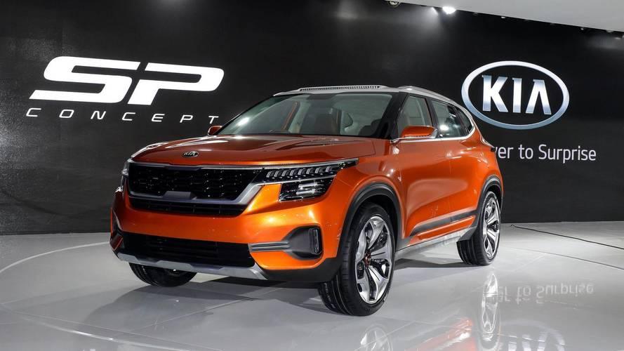 SUV compacto Kia SP Concept estreia na Índia de olho nos mercados emergentes