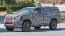 Nissan Navara SUV Spy Photos