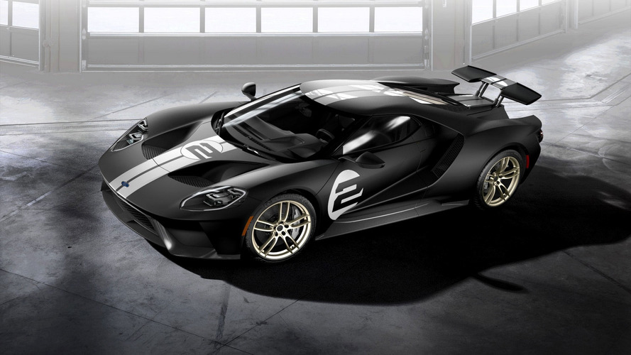 Ford GT '66 Heritage Edition honors Le Mans-winning GT40