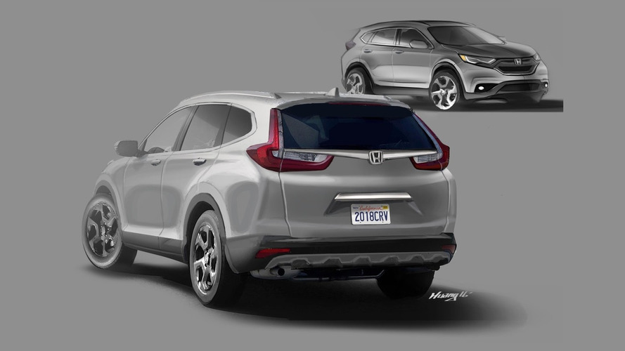 Reader envisions 2018 Honda CR-V based on spy shots