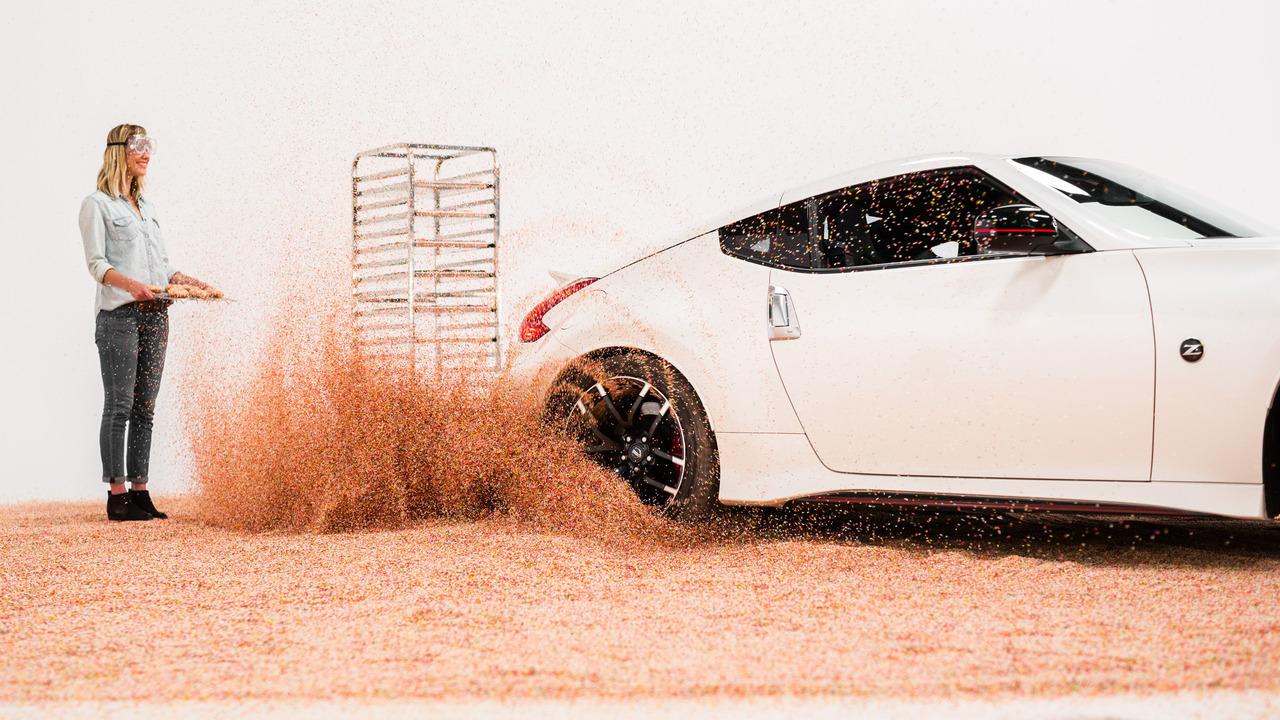 Nissan 370Z Donut Sprinkles
