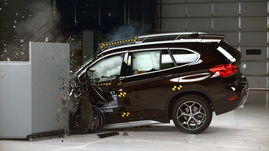 2016 BMW X1 qualifies for IIHS Top Safety Pick+