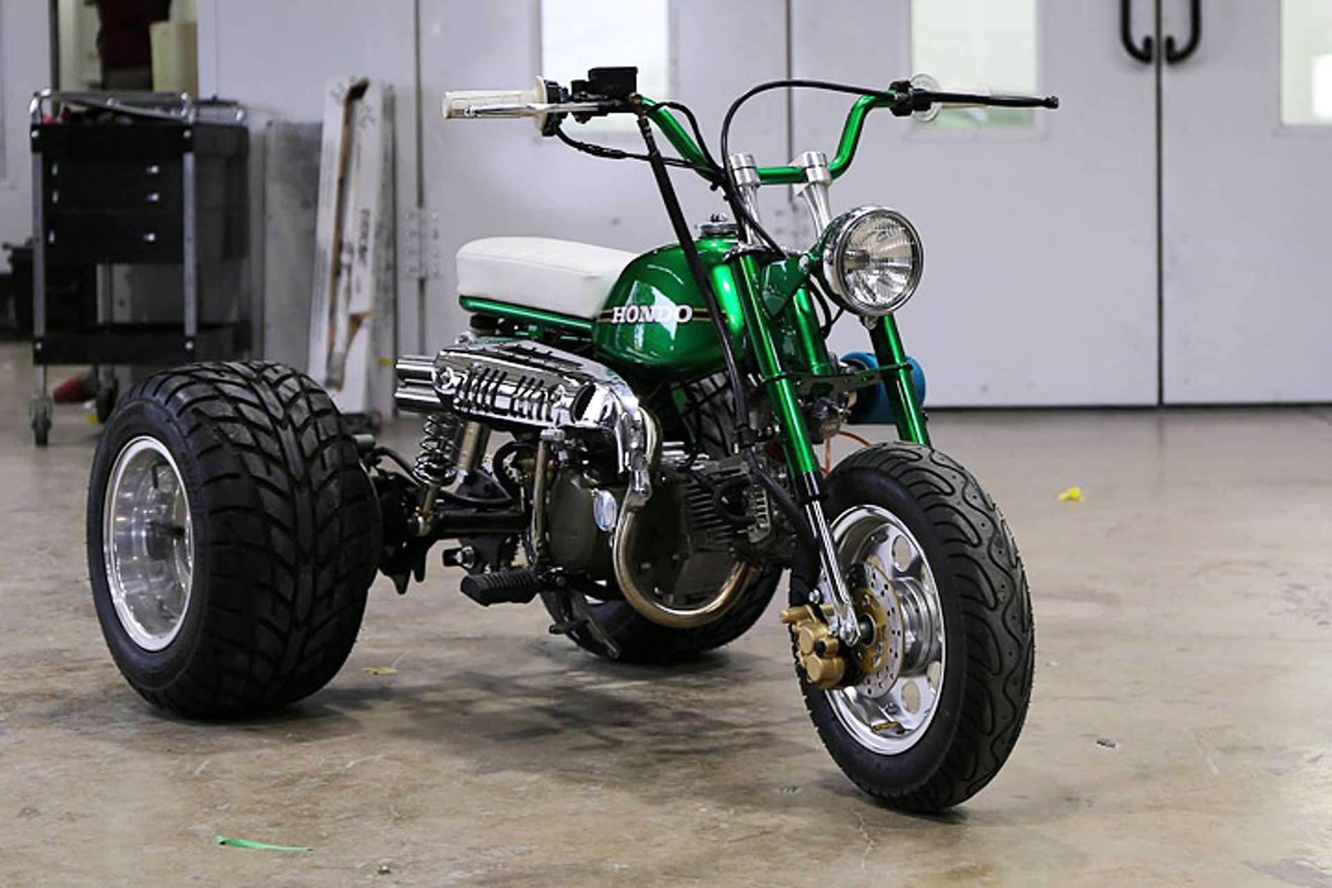 Gas Monkey Garage S Mean Green Hondo Trike Is Up For Sale