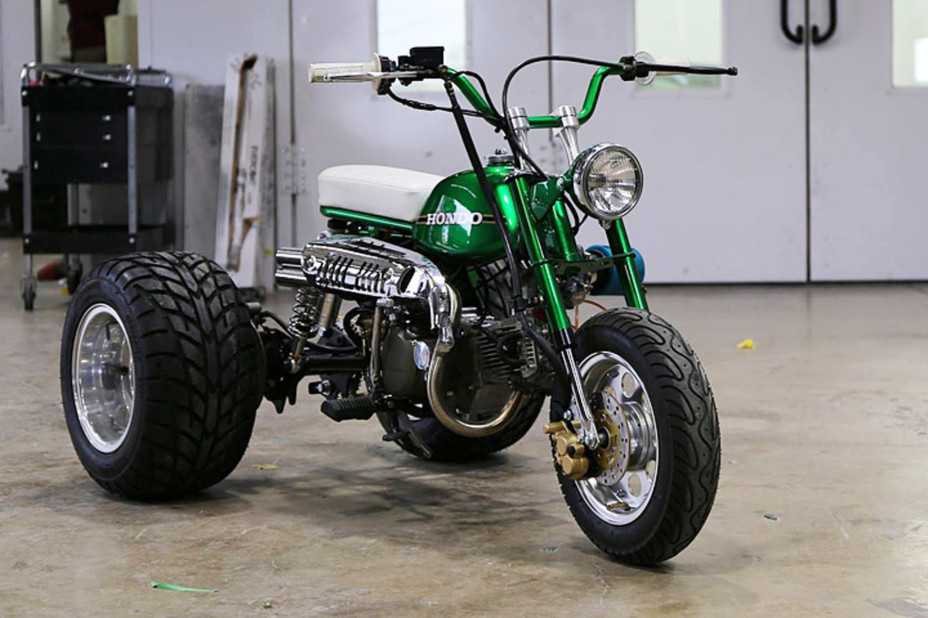 """Gas Monkey Garage's Mean, Green """"HONDO"""" Trike is Up for Sale"""