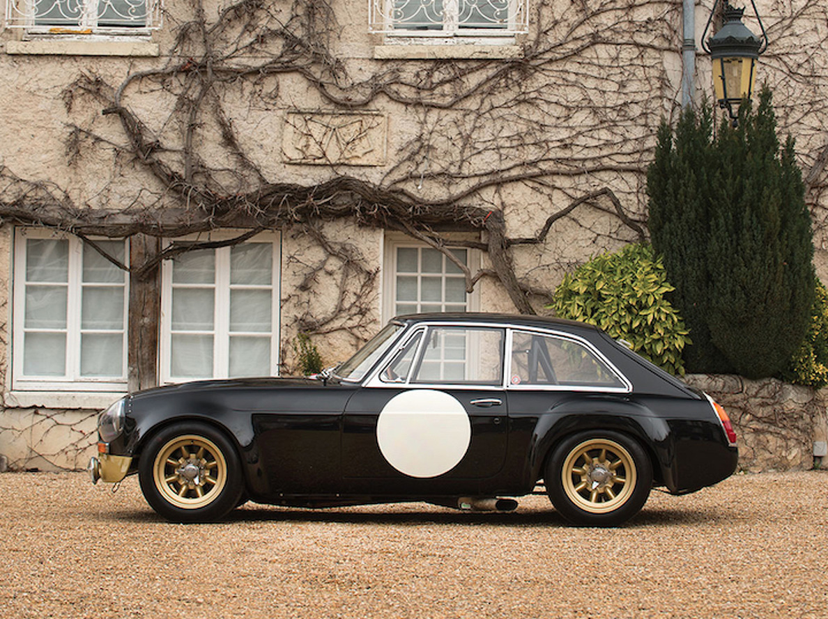 1969 MG Race Car is a Glorious Piece of History Headed to Auction