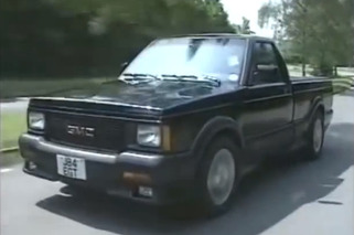 Jeremy Clarkson Drag Races GMC Syclone in Old 'Top Gear' Clip [video]