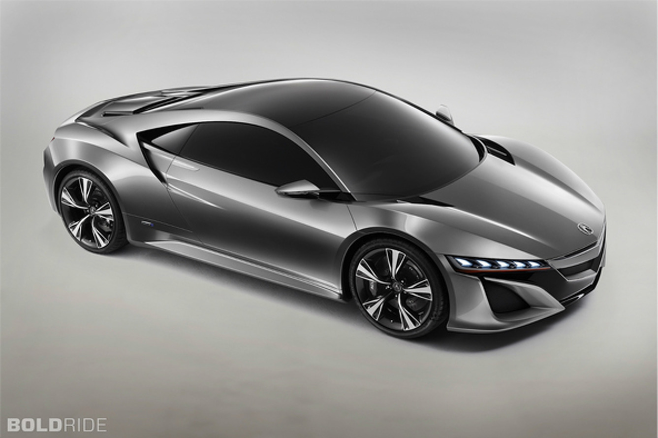 Acura NSX Utilizing Hybrid Twin-Turbo V6