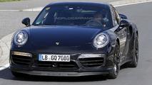 2016 Porsche 911 Turbo facelift spy photo