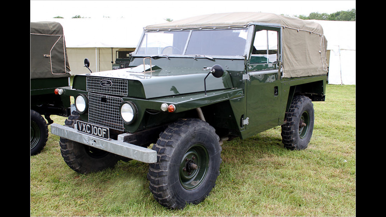 Land Rover ,Bonneted Control