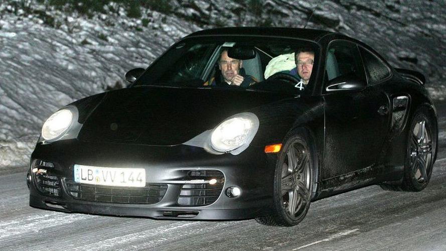 Porsche 911 Turbo Spy Photos