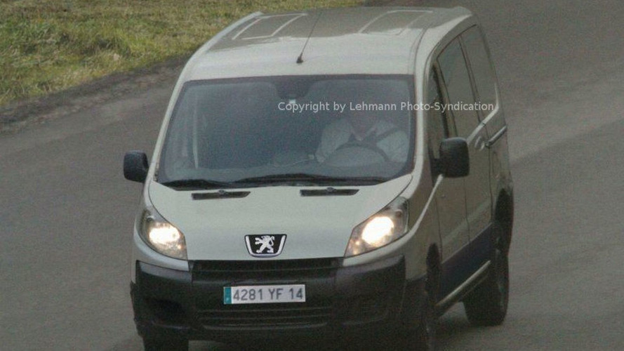 Spy Photos New Peugeot Partner