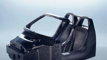 Carrera GT karbon fiber şasi