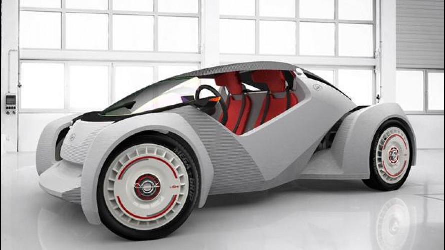 Strati, l'auto italo-americana stampata in 3D è già venduta