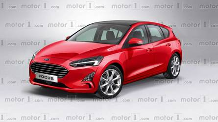 2019 Ford Focus Render Takes After The Fully Revealing Spy Image