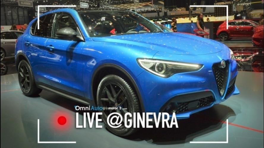 Salone di Ginevra, i riflettori Alfa Romeo sono su Stelvio [VIDEO]