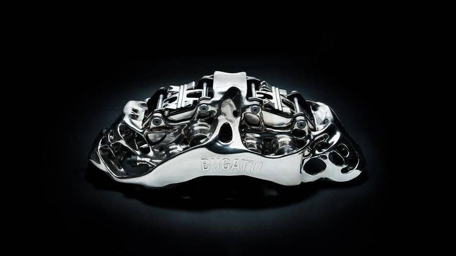 Bugatti crea la primera pinza de freno impresa en 3D