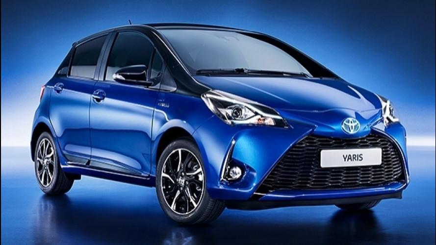 Toyota Yaris, un restyling di sostanza