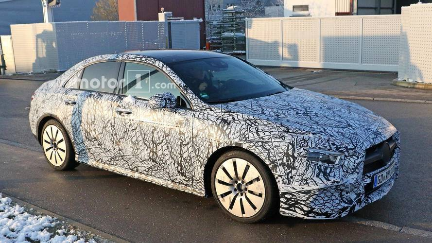 Mercedes-AMG A 35 berline photos espion