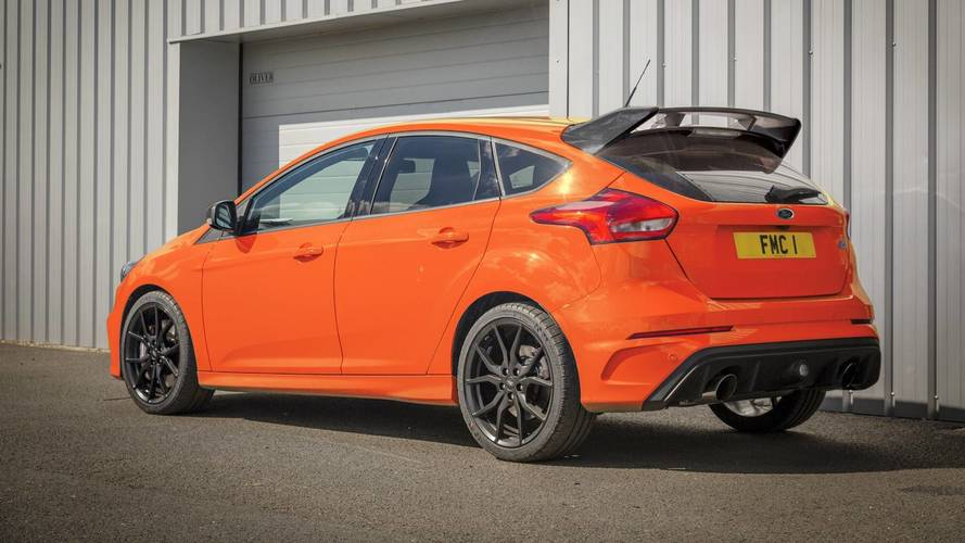 Ford Focus RS To Bow Out After Heritage Edition For U.K.