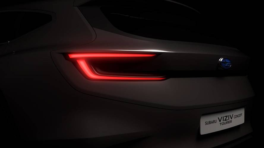 Subaru teases Viziv tourer ahead of Geneva unveil