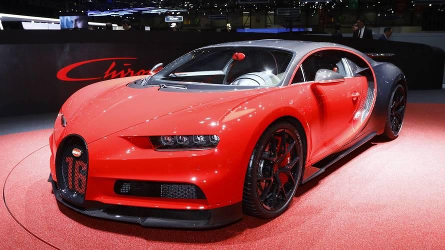 Bugatti Chiron Sport Is 40 Lbs Lighter, Faster In Corners