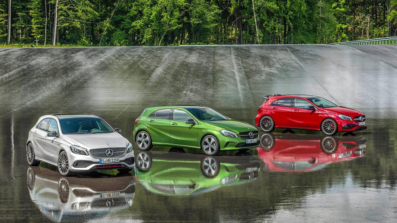 Mercedes A-Klasse: Schnell und grell