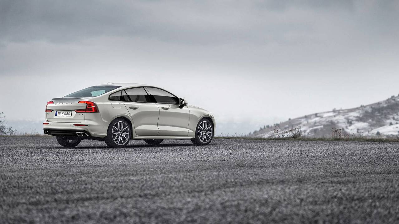 2018 Volvo S60 rendering