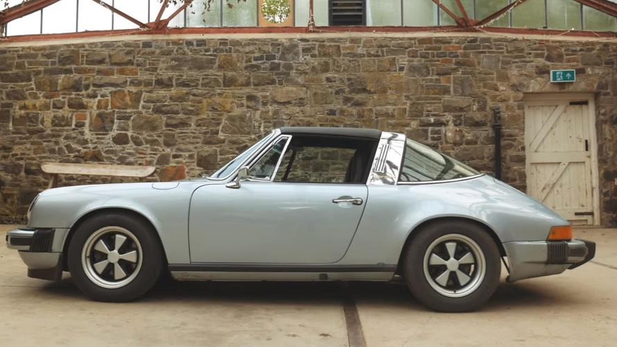 VIDÉO - Une Porsche 911 Type G avec un coeur de Tesla !