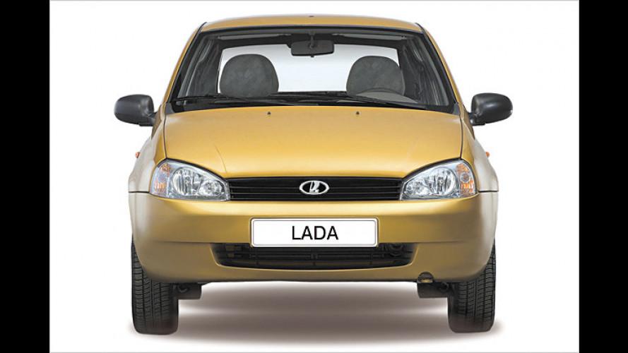 Neuer Lada da: Stufenheck-Kalina steht in den Startlöchern