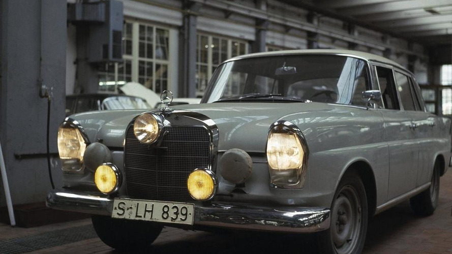 New 'fintail' Mercedes-Benz classic will compete in endurance race at the Nürburgring